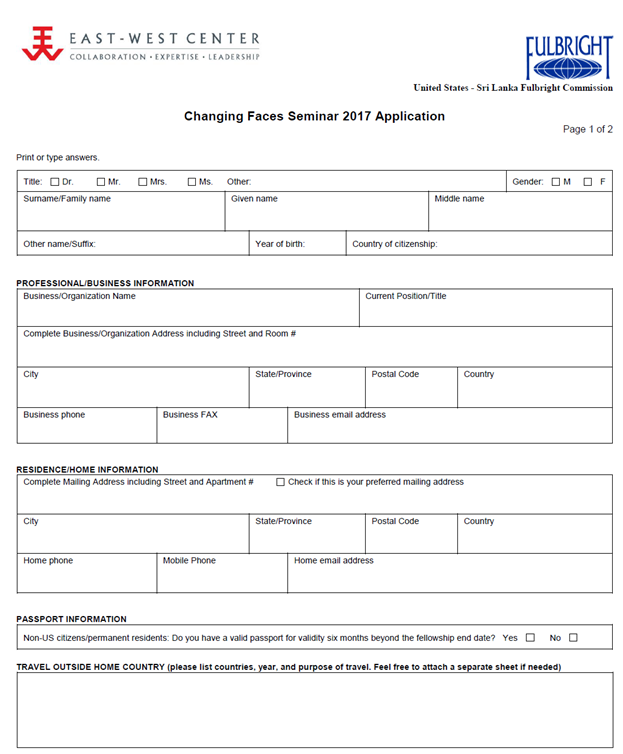 Sri lanka forex association membership form