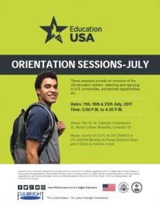 Orientation Flyer - July 2017